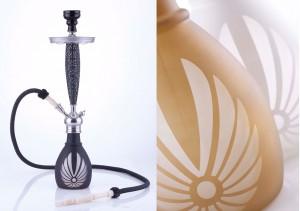 Die Bangkok-Shisha ist die erste Wasserpfeife mit einer ganz neuen, stylischen und vor allem handgefertigten Edelrauchsäule.