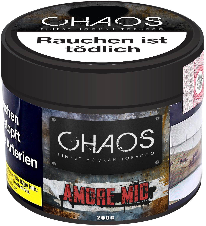 Amore Mio, Chaos Tobacco (200g) | 200g | Chaos | Shisha Tabak